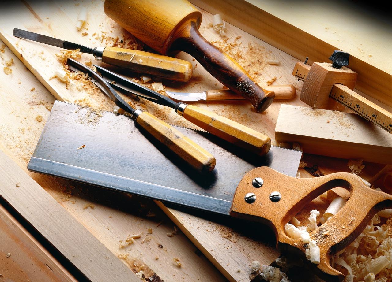 L'importance des outils en menuiserie